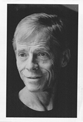 "James Merrill, publicity photo for ""Voices of Sandover,"" 1988"