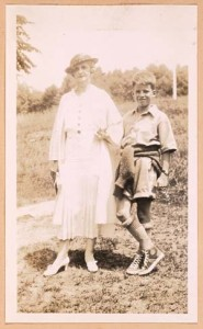 JM and Mis' Annie, The Orchard, c. 1934.