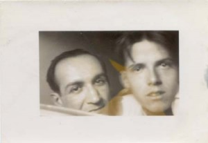 JM and KF, Amherst, 1945.