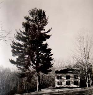 Claude Frederick's house in Pawlet, VT., 1950.