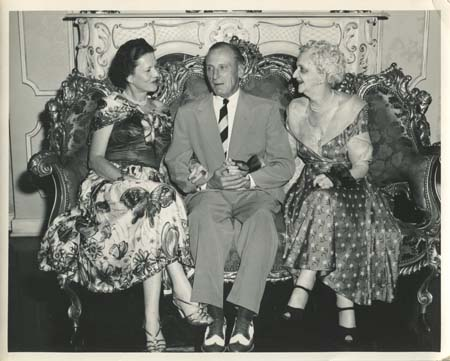 HIP, ABI, and gen. Wiliam Plummer, early 1950s.