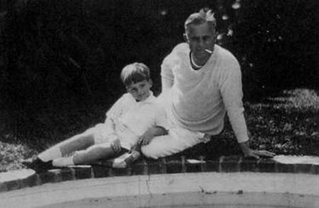 JM and CEM in Palm Beach, 1929.