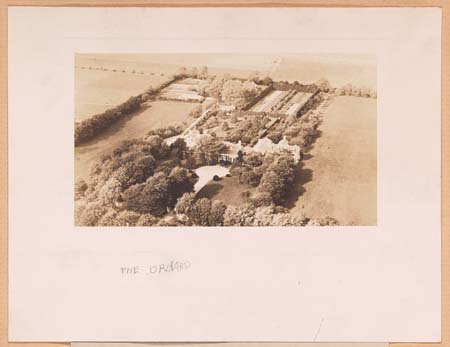 The Orchard, aerial view, 1926. Source: Yale