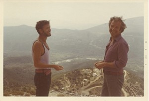 JM and DK in Greece, 1972.