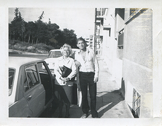 James Merrill and Nelly Liambey, 1970s