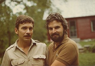 Alfred Corn and J. D. McClatchy, Wells River, VT, 1983